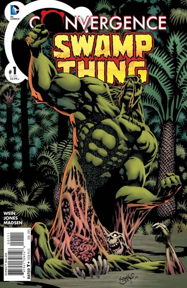 Couverture de Convergence Swamp Thing (2015) -1- It's not easy being Green !