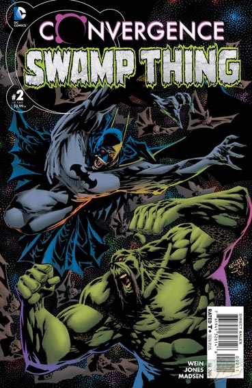 Couverture de Convergence Swamp Thing (2015) -2- The night has a thousand eyes!