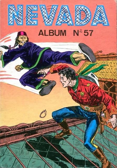 Couverture de Nevada (LUG) -Rec57- Album N°57 (du n°359 au n°362)