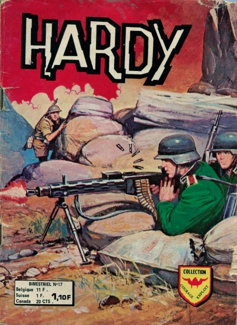 Couverture de Hardy (2e série) -17- Les typhoon attaquent
