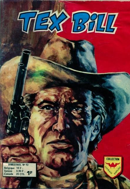 Couverture de Tex Bill -92- Le faux testament
