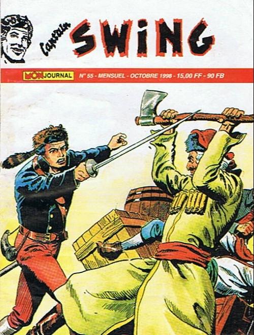 Couverture de Capt'ain Swing! (2e série - Mon Journal) -55- Le crâne aux trois étoiles