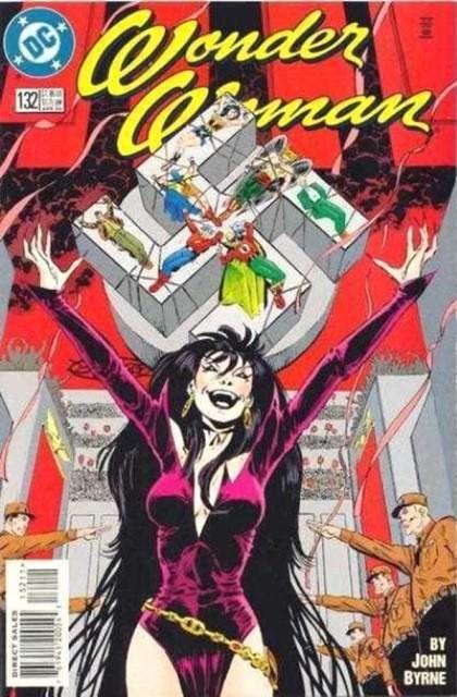 Couverture de Wonder Woman (1987) -132- Shadows of the past