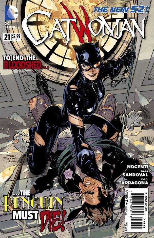 Couverture de Catwoman (2011) -21- Gang War