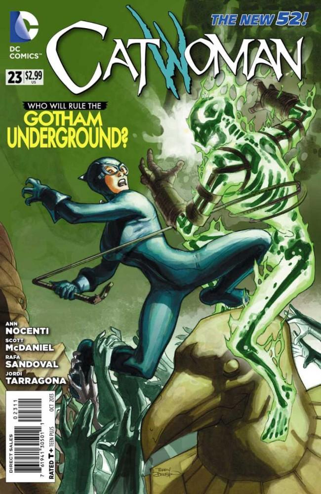 Couverture de Catwoman (2011) -23- Down Under, part 2