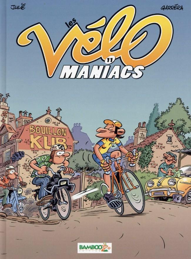 Couverture de Les vélo Maniacs -11- Tome 11