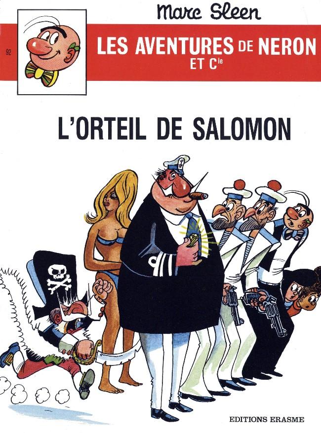 Couverture de Néron et Cie (Les Aventures de) (Érasme) -92- L'orteil de Salomon