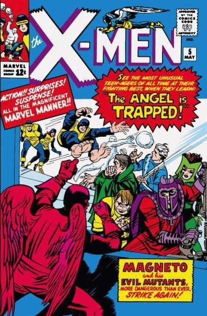 Couverture de Uncanny X-Men (The) (1963) -5- Trapped: one X-Man