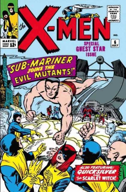 Couverture de Uncanny X-Men (The) (1963) -6- Sub-mariner joins the evil mutants!