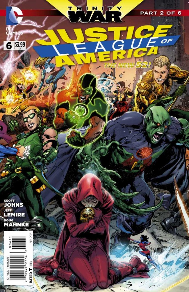 Couverture de Justice League of America (2013) -6- Trinity War: Chapter Two
