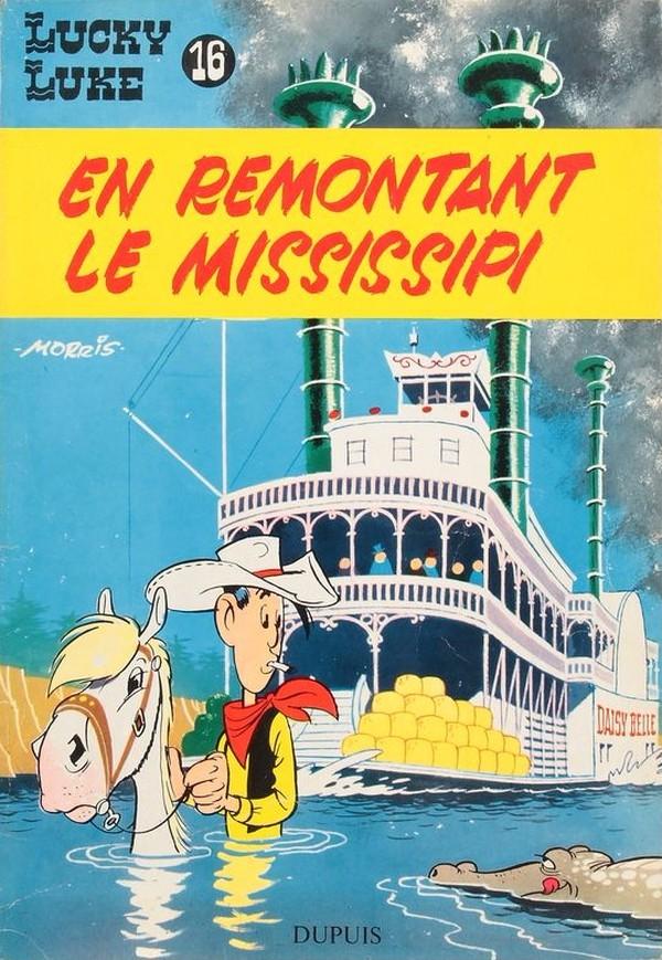 Couverture de Lucky Luke -16- En remontant le Mississipi