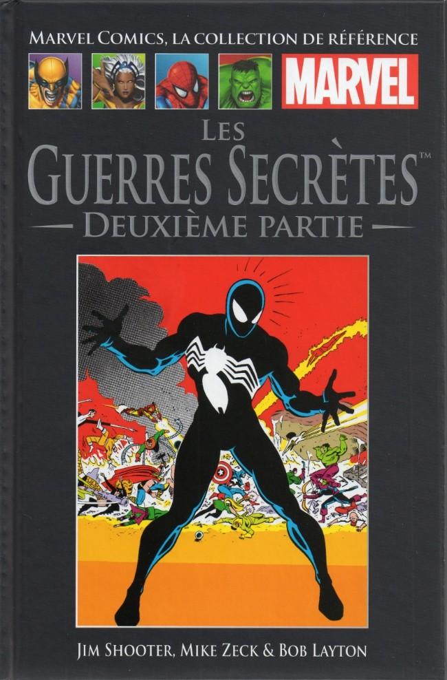 Couverture de Marvel Comics - La collection (Hachette) -338- Les Guerres Secrètes - Deuxième partie