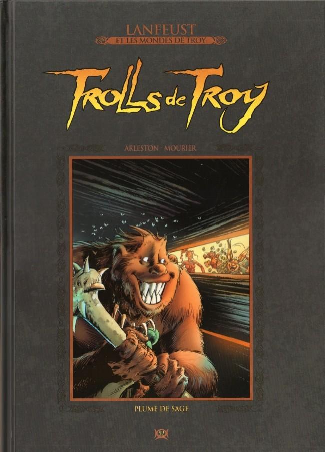 Couverture de Lanfeust et les mondes de Troy - La collection (Hachette) -52- Trolls de Troy -Plume de sage
