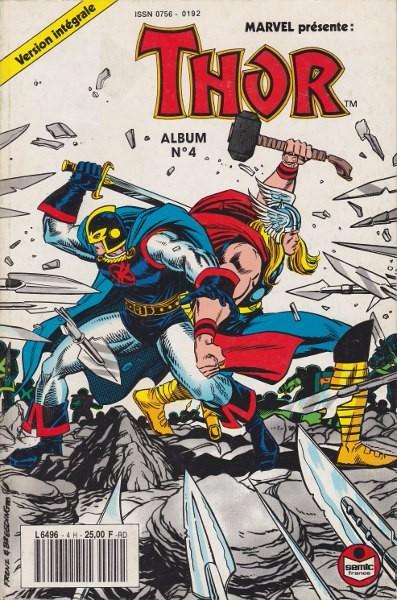 Couverture de Thor (3e Série - Lug/Semic) -Rec04- Album N°4 (du n°10 au n°12)
