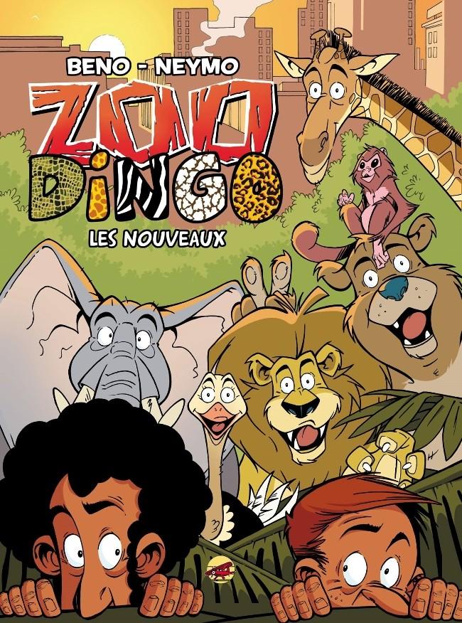Couverture de Zoo Dingo -1- Les nouveaux