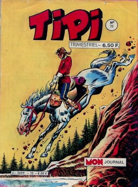 Couverture de Tipi -73- Plume Rouge - Le mustang de Perce-Neige