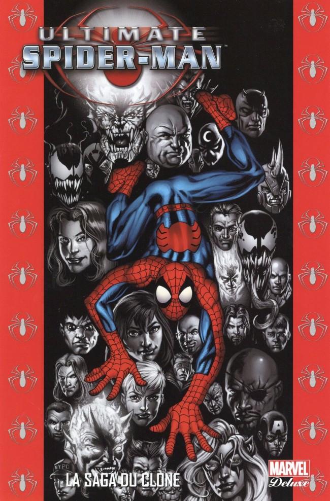 Couverture de Ultimate Spider-Man (Marvel Deluxe) -9- La saga du clone