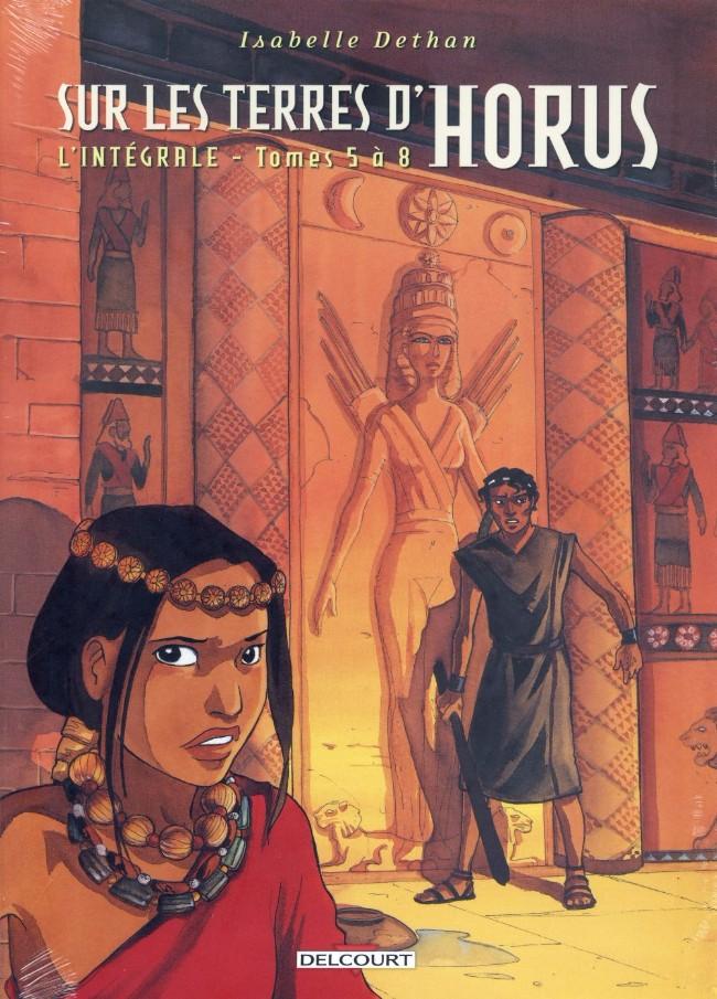 Couverture de Sur les terres d'Horus -INT2- L'intégrale - Tomes 5 à 8