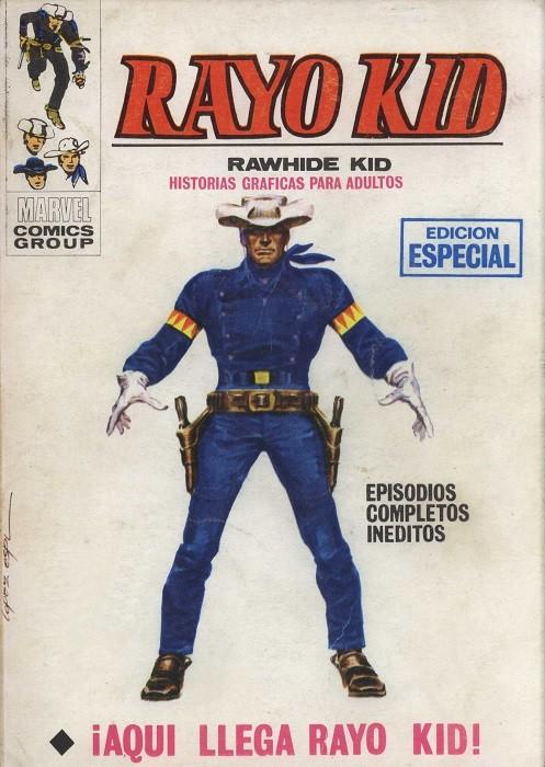 Couverture de Rayo Kid -1- ¡Aqui llega Rayo Kid!