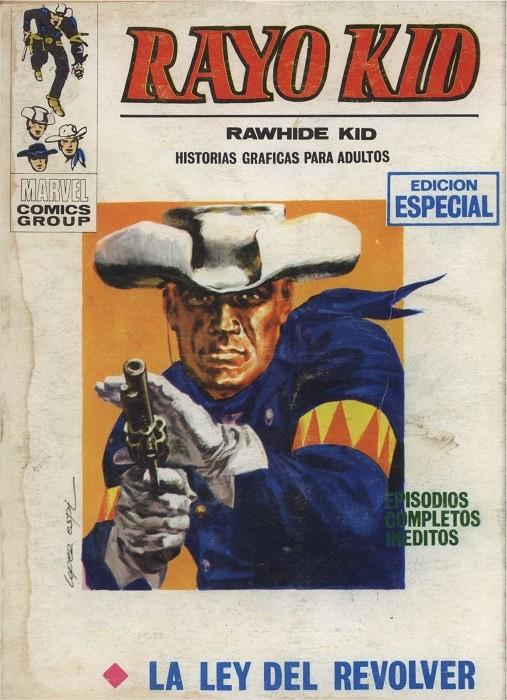 Couverture de Rayo Kid -2- La ley del revolver