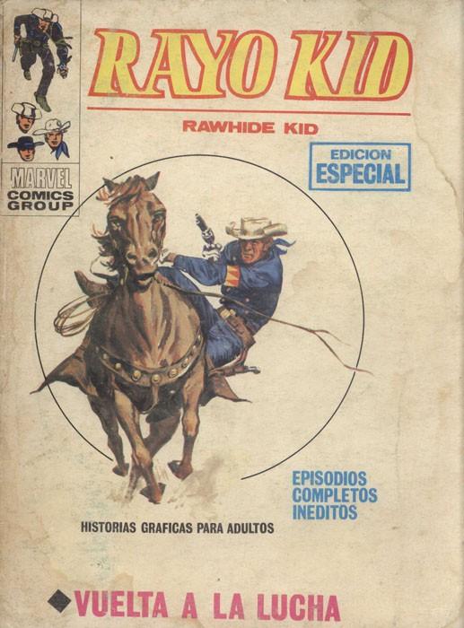 Couverture de Rayo Kid -5- Vuelta a la lucha