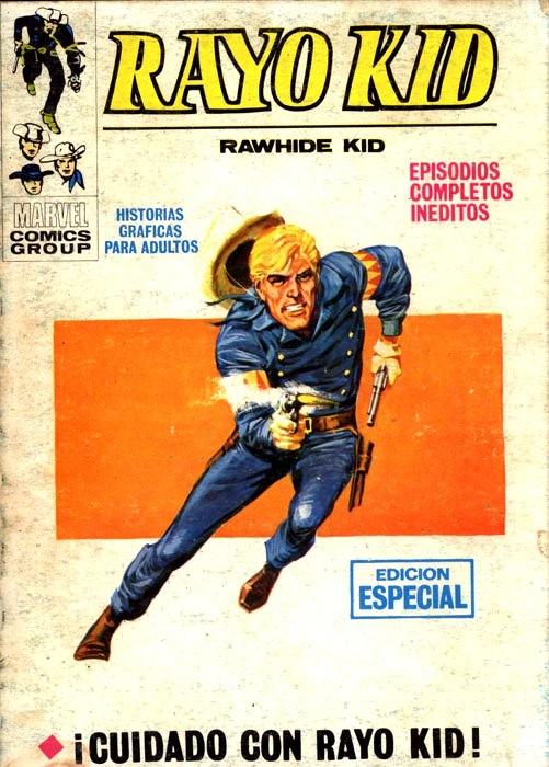 Couverture de Rayo Kid -7- ¡Cuidado con Rayo Kid!