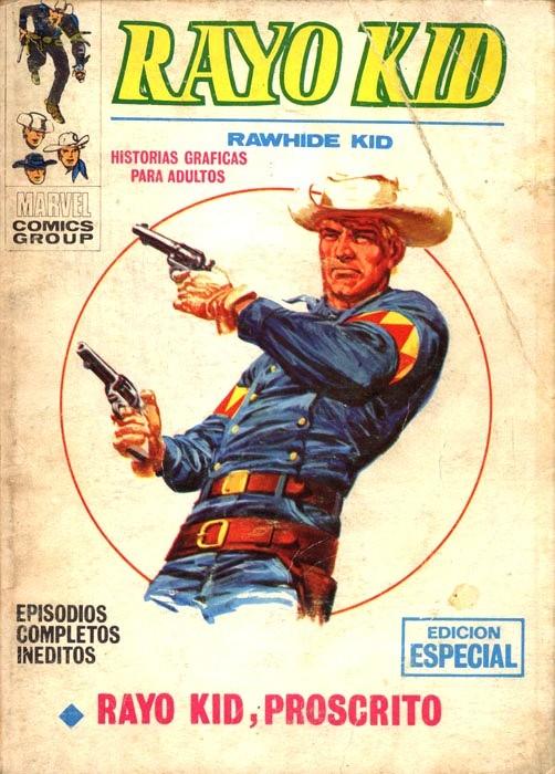 Couverture de Rayo Kid -8- Rayo Kid, Proscrito