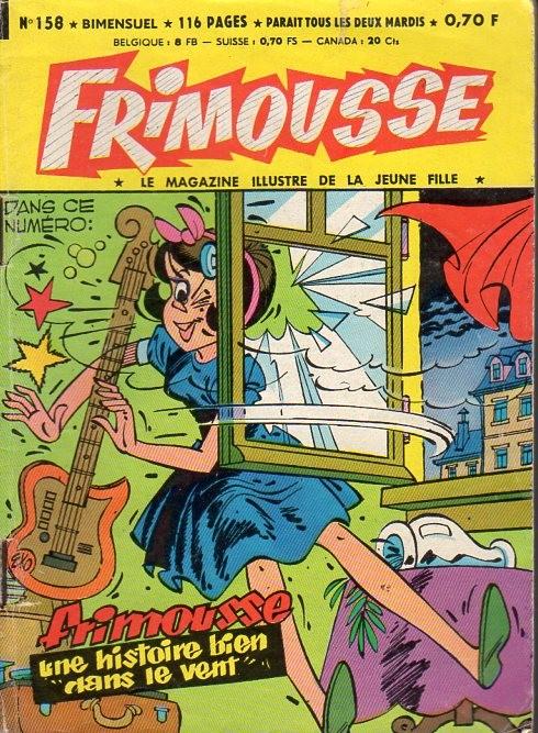 Couverture de Frimousse et Frimousse-Capucine -158- Nora la fille du shériff (suite)