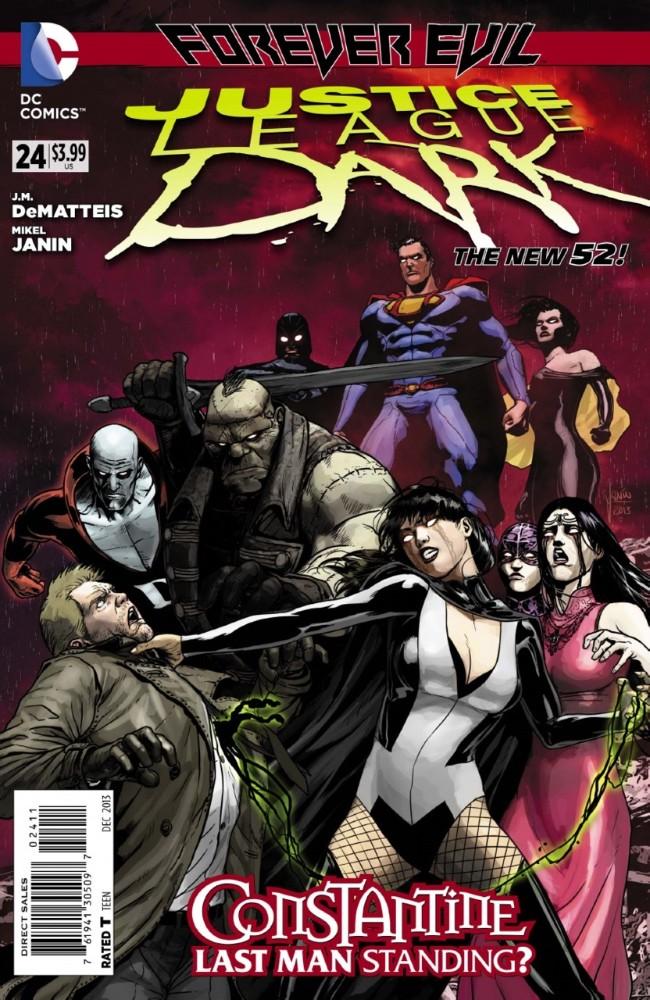 Couverture de Justice League Dark (2011) -24- Forever Evil: Blight - Tiny Evils