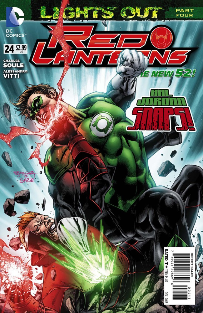 Couverture de Red Lanterns (2011) -24- Lights Out, Part Four