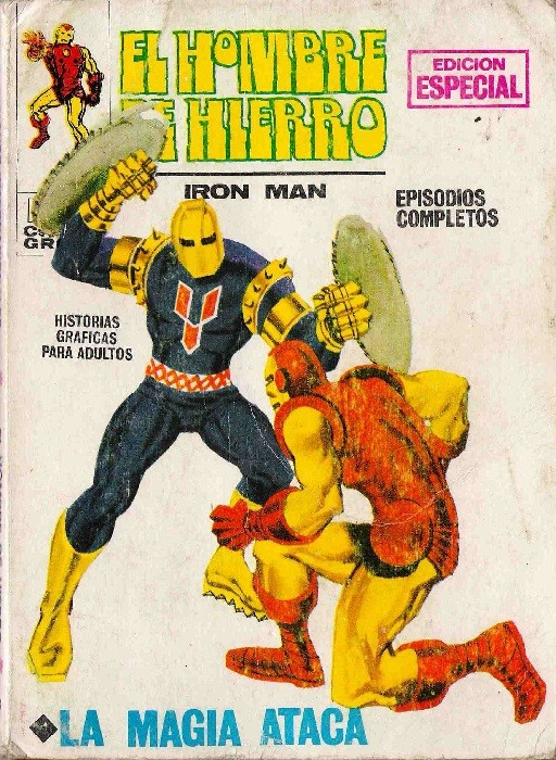 Couverture de Hombre de Hierro (El) (Iron Man) Vol. 1 -3- La magia ataca