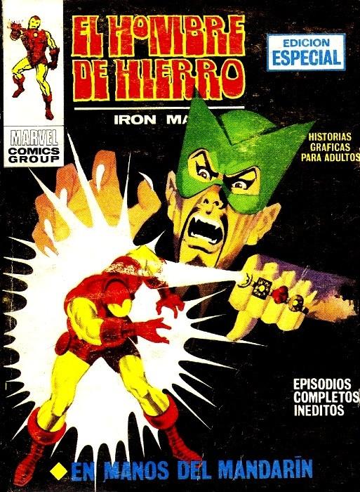 Couverture de Hombre de Hierro (El) (Iron Man) Vol. 1 -4- En manos del Mandarín