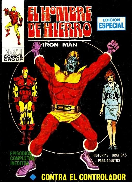 Couverture de Hombre de Hierro (El) (Iron Man) Vol. 1 -5- Contra el Controlador