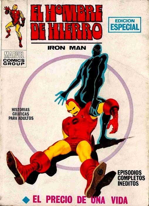 Couverture de Hombre de Hierro (El) (Iron Man) Vol. 1 -8- El precio de una vida