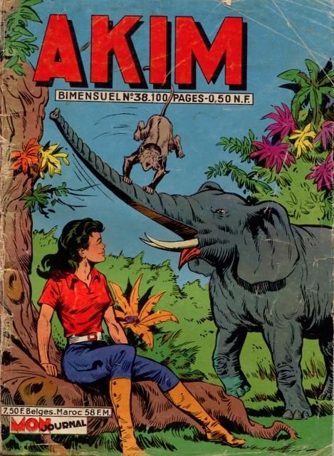 Couverture de Akim (1re série) -38- Zig à la rescousse