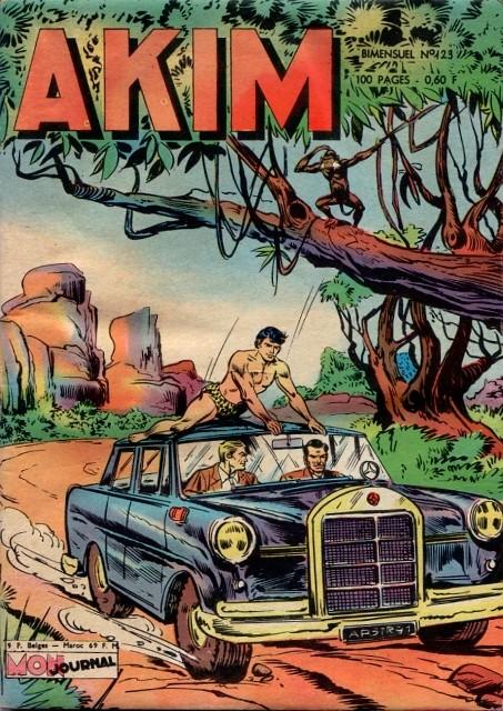 Couverture de Akim (1re série) -123- Le secret de Sir Condor