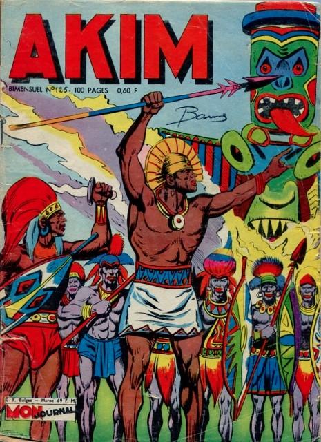 Couverture de Akim (1re série) -125- Le saut de la mort