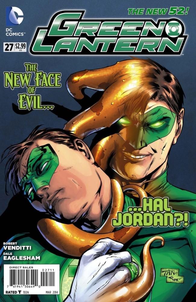 Couverture de Green Lantern Vol.5 (DC Comics - 2011) -27- Harsh Realities