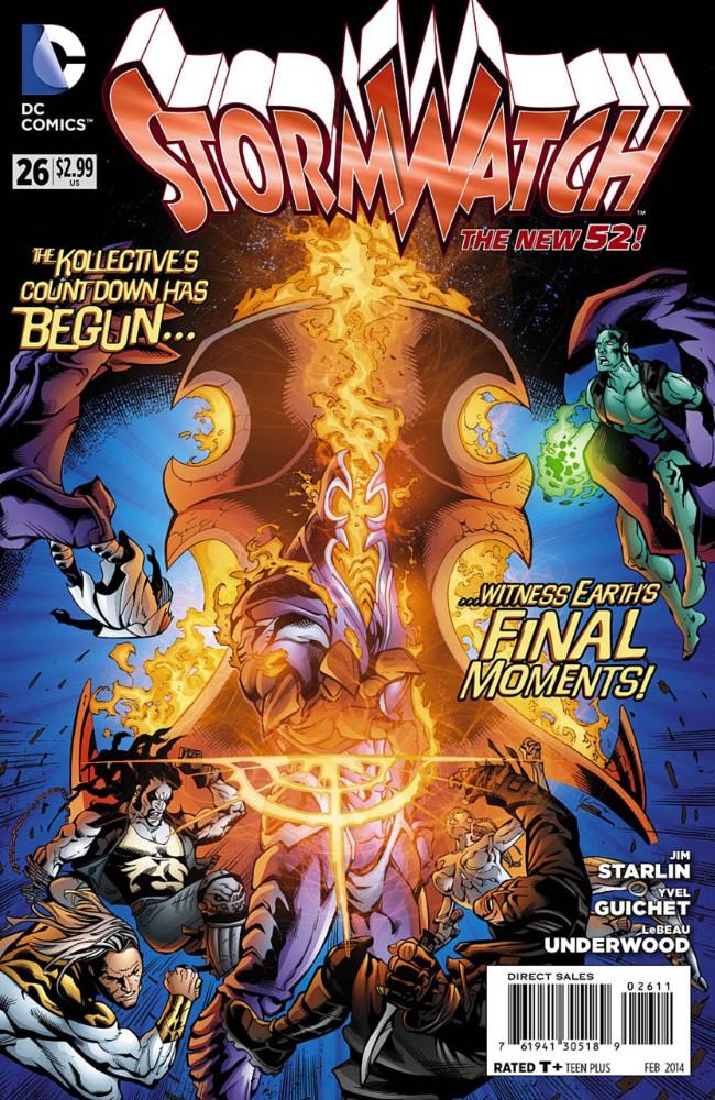 Couverture de Stormwatch (2011) -26- Legacy