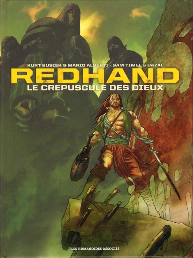 Couverture de Redhand -INT- Le crépuscule des Dieux
