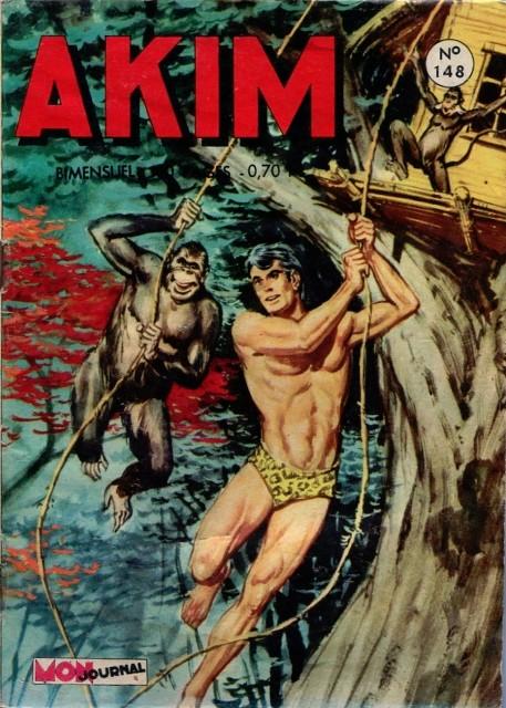 Couverture de Akim (1re série) -148- L'île inviolable