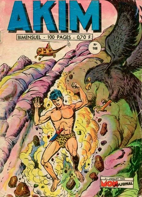 Couverture de Akim (1re série) -168- Le mystère du volcan éteint (suite)