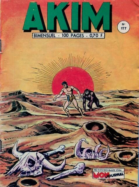 Couverture de Akim (1re série) -177- Le mystère du Roc Vert