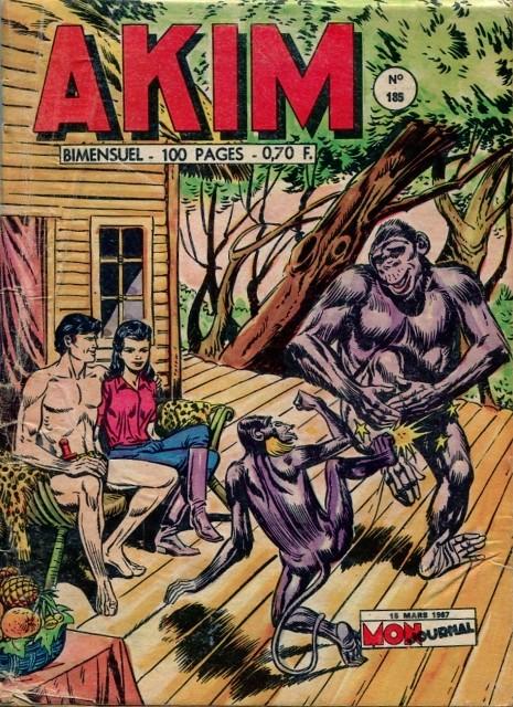 Couverture de Akim (1re série) -185- Plan machiavélique !