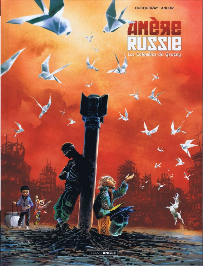Couverture de Amère Russie -2- Les Colombes de Grozny