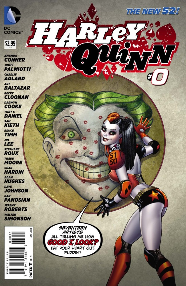 Couverture de Harley Quinn (2014) -0- Picky Sicky