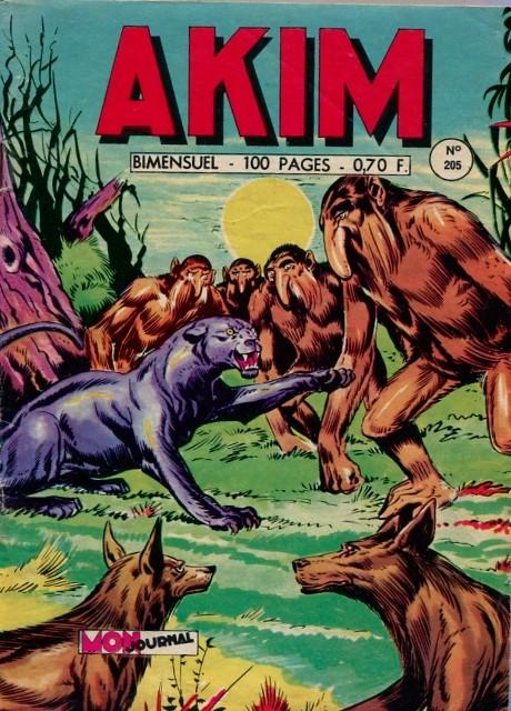 Couverture de Akim (1re série) -205- Duel dans les airs