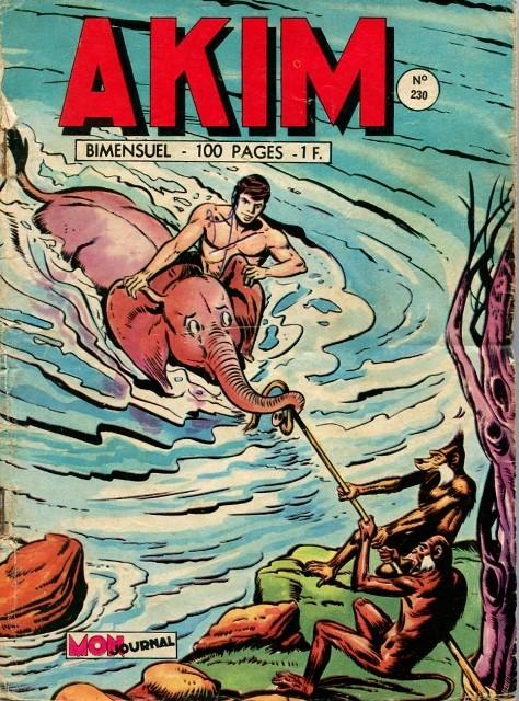 Couverture de Akim (1re série) -230- Disparitions mystérieuses