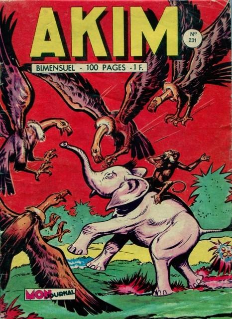 Couverture de Akim (1re série) -231- Le maître des vautours