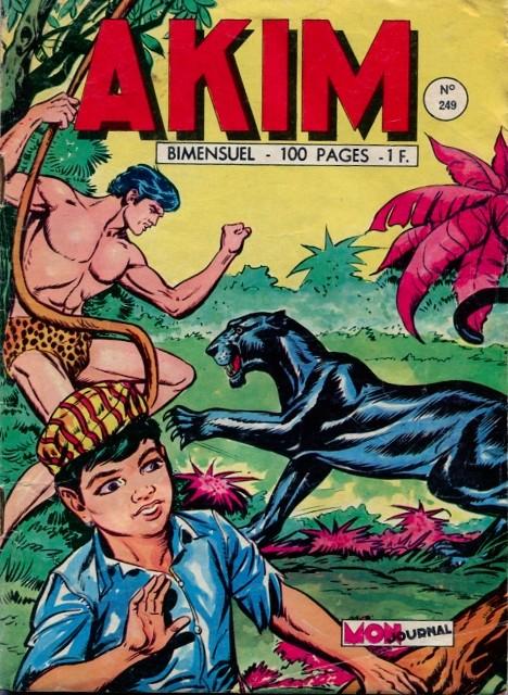 Couverture de Akim (1re série) -249- Le trésor de la grande forêt